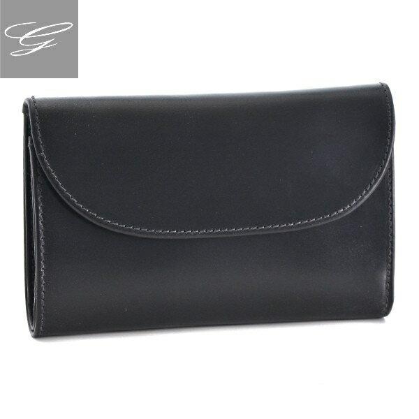 ホワイトハウスコックス/WHITEHOUSE COX 財布 メンズ ブライドルレザー 3つ折り財布 ブラック  SR1112-SC-0001