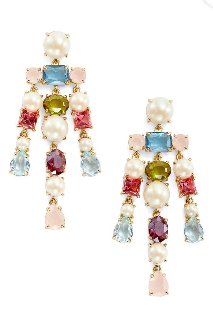 Kate Spade ケイトスペード ア ニュー ヒュー クリスタル ドロップ ピアス A New Hue Crystal Drop Earrings 正規輸入品□