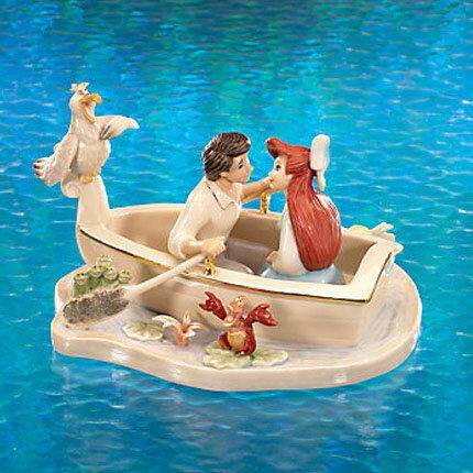 レノックス LENOX リトルマーメイド Moonlight Kiss Little Mermaid Sculpture ムーンライト・キス リトルマーメイド 404271 □