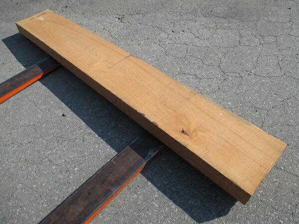 さくら無垢板 天然乾燥材1900×80×300ミリ ※多少反り・割れあり