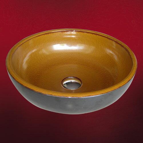 陶器洗面ボウル(手洗い鉢・陶器洗面ボール・洗面台) INK-0401004H【smtb-td】