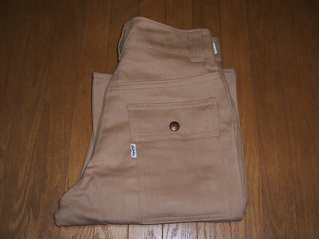 LEVIS(リーバイス) 674 Bush Pants(ブッシュパンツ) Lot 674-4023 1970年代 実物ビンテージ TALON42(タロン42)ジッパー使用 デッドストック W28×L28