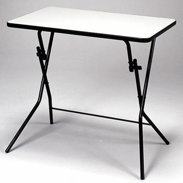 折りたたみテーブル スタンドタッチテーブル メラミン樹脂加工 幅75cm ( 送料無料 デスク 机 作業台 パソコンデスク フォールディングテーブル コーヒーテーブル ) 【5000円以上送料無料】