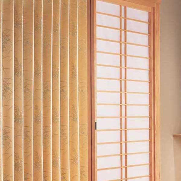 カーテン 激安 東リ オーダーカーテン&シェード elure 和風 KSA60168スタンダード縫製 約2倍ヒダ 3ツ山仕様 (税別価格) タッセル含む