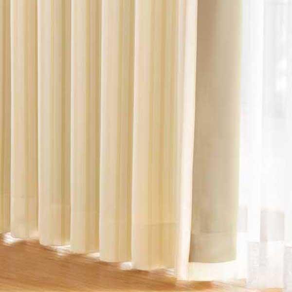 カーテン 激安 東リ オーダーカーテン&シェード elure 遮光(裏地) KSA60398~KSA60400スタンダード縫製 約2倍ヒダ 3ツ山仕様 (税別価格) タッセル含む