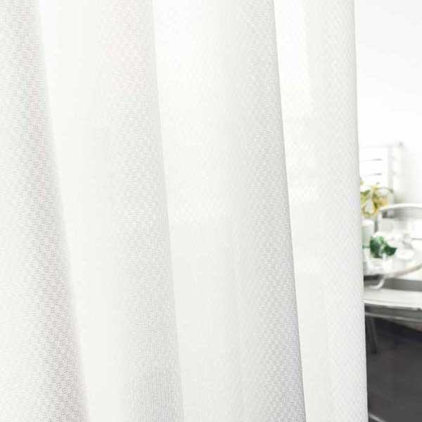 カーテン 激安 東リ オーダーカーテン&シェード elure 機能 ボイル&レース KSA60454スタンダード縫製 約2倍ヒダ 3ツ山仕様 (税別価格) タッセルなし