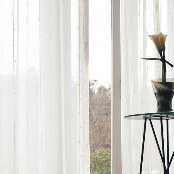 カーテン 激安 東リ オーダーカーテン&シェード elure ミラーレース KSA60471スタンダード縫製 約1.5倍ヒダ 2ツ山仕様 (税別価格) タッセルなし