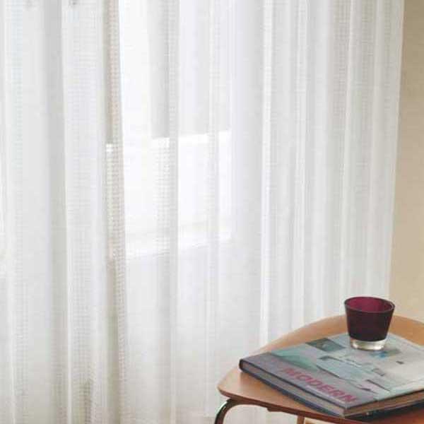 カーテン 激安 東リ オーダーカーテン&シェード elure ミラーレース KSA60490スタンダード縫製 約1.5倍ヒダ 2ツ山仕様 (税別価格) タッセルなし