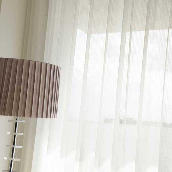カーテン 激安 東リ オーダーカーテン&シェード elure ミラーレース KSA60493スタンダード縫製 約2倍ヒダ 3ツ山仕様 (税別価格) タッセルなし