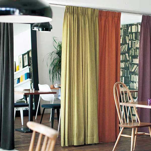 カーテン&シェード 価格 交渉 送料無料 川島セルコン オーダーカーテン !´m アイム PLAIN ME2257~2265 厚地+レースのお買い得セット:スタンダード縫製 約1.5倍ヒダ