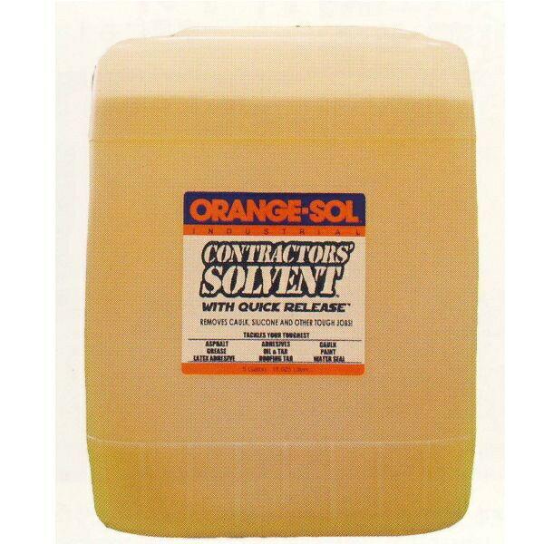 オレンジゾル社 コントラクターズソルベント 5ガロン 業務用