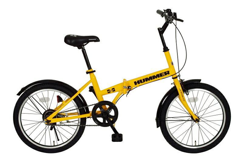 「折りたたみ自転車」HUMMER FDB20R ハマー MG-HM20R 【送料無料 送料込み】