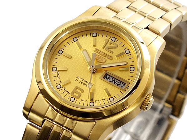 【期間限定】【ポイント2倍】(~9/19 09:59) セイコー SEIKO セイコー5 SEIKO 5 自動巻き 腕時計 SYMJ34J1 レディース