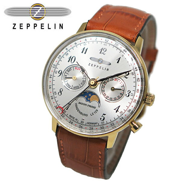 ツェッペリン ZEPPELIN ヒンデンブルク クオーツ 腕時計 7039-1 ユニセックス