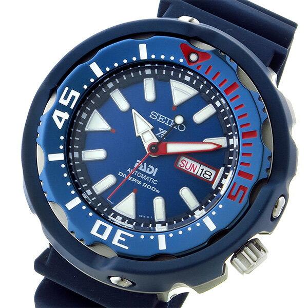 セイコー SEIKO プロスペックス パディコラボ 200M ダイバーズ 自動巻き 腕時計 SRPA83K1 ネイビー メンズ 【代引き不可】