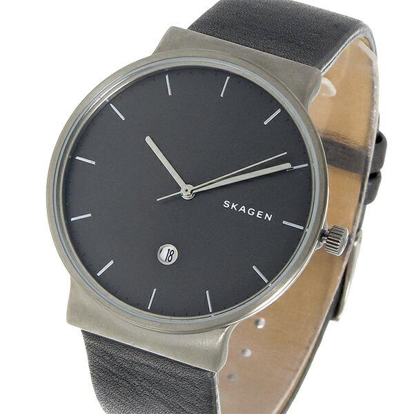【期間限定】【ポイント2倍】(~9/19 09:59) スカーゲン SKAGEN  クオーツ 腕時計 SKW6320 グレー メンズ