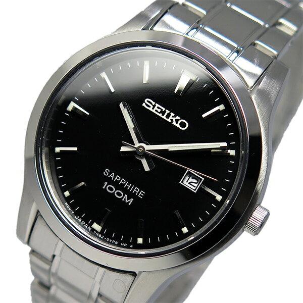 【期間限定】【ポイント2倍】(~9/19 09:59) セイコー SEIKO クオーツ 腕時計 SXDG63P1 ブラック レディース