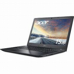 TMP259G2M-A36U/HL6 (Core i3-7100U /16GB/256G SSD/DVDドライブ/15.6/Windows 10 Pro(64bit) /Office2016Personal/ブラック) Acer TMP259G2M-A36U/HL6