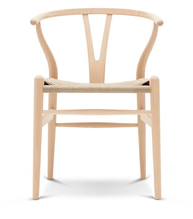Yチェア (ビーチ材 座面ナチュラル オイル塗装) Yチェア ハンス・J・ウェグナー 椅子 チェア カールハンセン ダイニングチェア