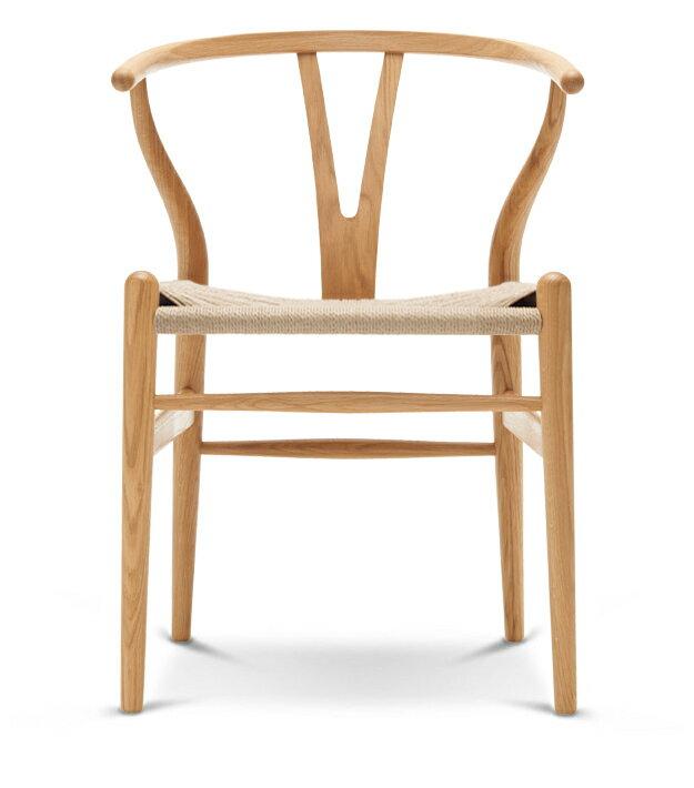 Yチェア (オーク材 座面ナチュラル オイル塗装) Yチェア ハンス・J・ウェグナー 椅子 チェア カールハンセン ダイニングチェア