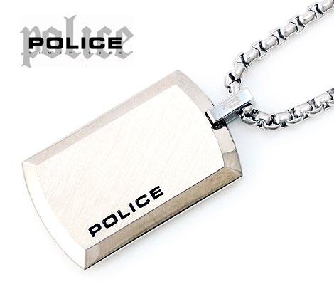 POLICE  ポリス PURITY シルバータグ ネックレス/ペンダント 25988PSS01【送料無料】