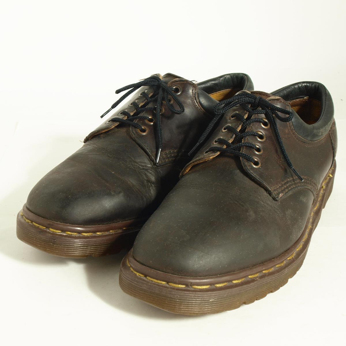 ドクターマーチン 英国製 5ホールシューズ UK10 メンズ28.5cm Dr.Martens /boj1036 【古着屋JAM】【中古】 160713【SS1709】