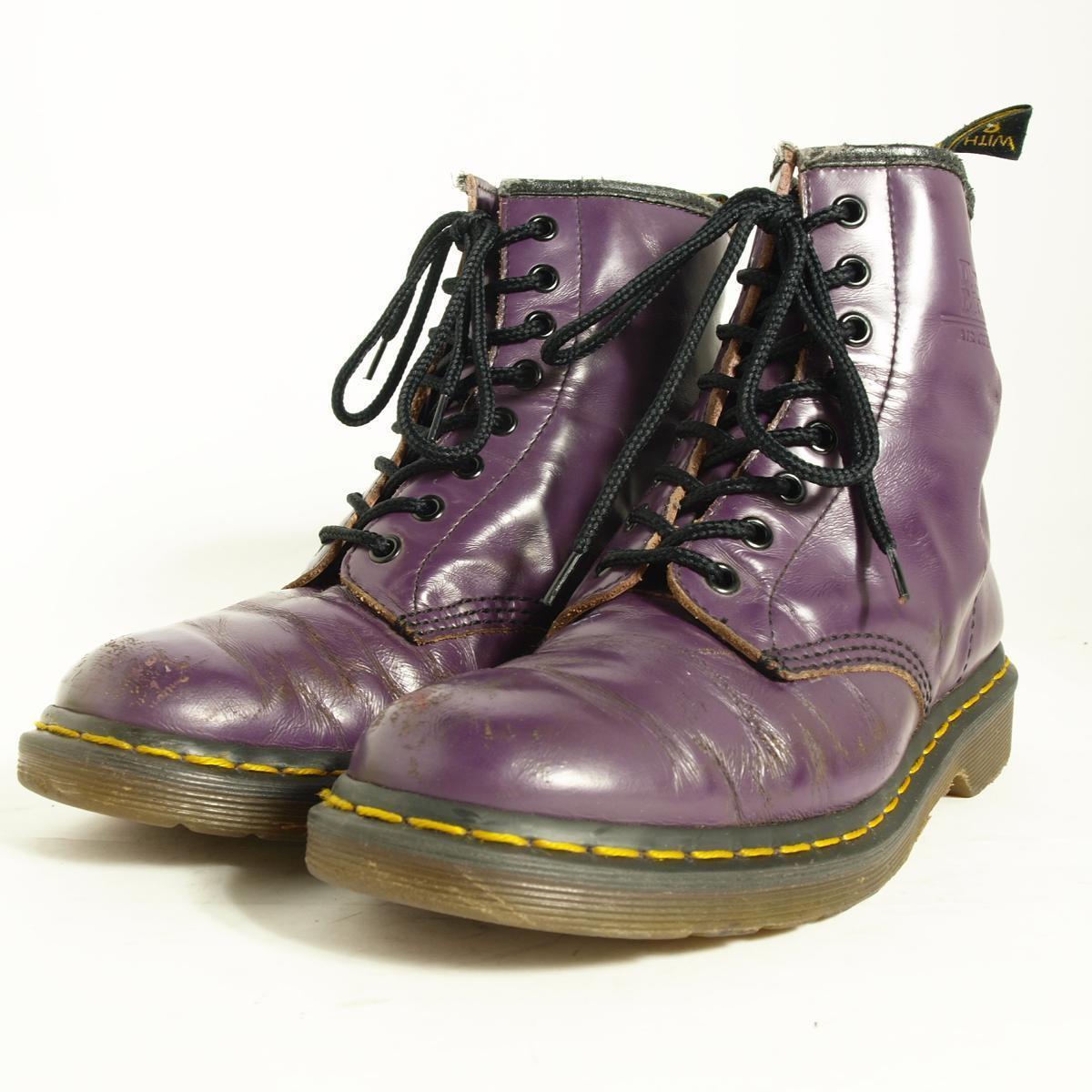 ドクターマーチン 8ホールブーツ UK7 メンズ25.5cm Dr.Martens /boj3138 【古着屋JAM】【中古】 160714