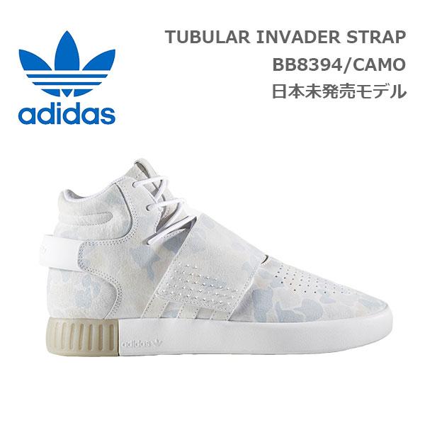 【送料無料】adidas originals (アディダス?オリジナルス) TUBULAR INVADER STRAP スニーカー [メンズ] BB8394 【CMO/25.5(US7.5)-29cm(US11.0)】 チュブラー インベーダー ストラップ 迷彩 CAMO カモ10P03Dec16【あす楽】
