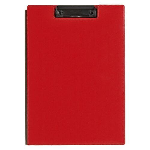 ★まとめ買い★キングジム レザフェス クリップボード 赤 1932LFアカ ×10個【返品・交換・キャンセル不可】【イージャパンモール】