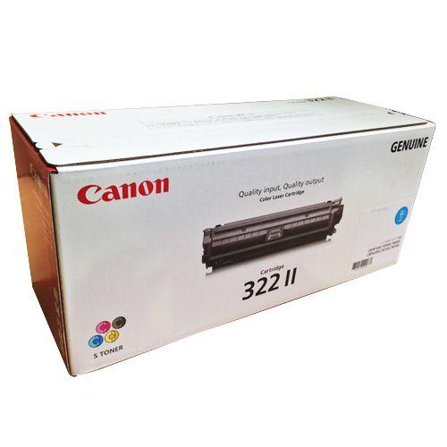 CANON トナーカートリッジ322II 輸入純正品 シアン 1個