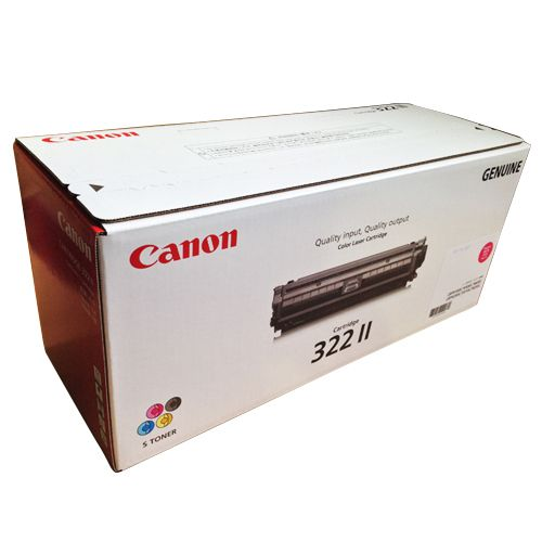 CANON トナーカートリッジ322II 輸入純正品 マゼンタ 1個