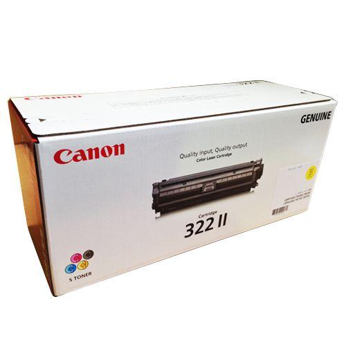 CANON トナーカートリッジ322II 輸入純正品 イエロー 1個
