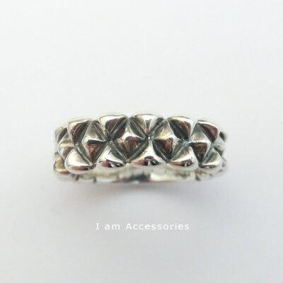 Studs design Ring Silver925 / スタッズデザインリング シルバー925【受注生産商品】 【オリジナル】【スタッズデザイン】【指輪】【i am accessories】