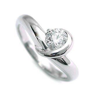 指輪 リング 指輪 レディース ダイヤモンド指輪 ダイヤモンド 一粒 ホワイトゴールド【楽ギフ_包装】