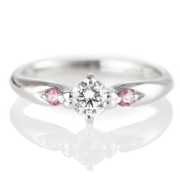 ダイヤモンド 指輪 プラチナ リング ダイヤ デザイン リング レディース 婚約指輪 エンゲージリング 0.35ct【楽ギフ_包装】