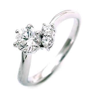 CanCam掲載( 4月誕生石 )  Pt ダイヤモンドリング(婚約指輪・エンゲージリング)【楽ギフ_包装】
