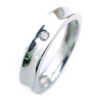 ( K18WG )ダイヤモンドペアリング【楽ギフ_包装】 【DEAL】