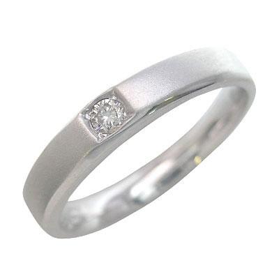 ペアリング K18ホワイトゴールド 結婚指輪・マリッジリング・【楽ギフ_包装】