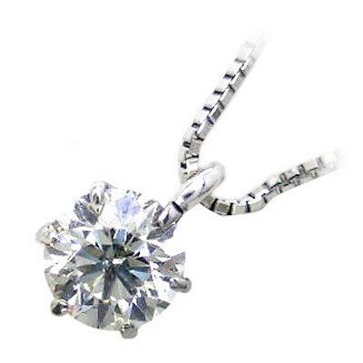 【限定超お買い得】プラチナダイヤモンドペンダントネックレス(0.3カラット)【楽ギフ_包装】 【DEAL】