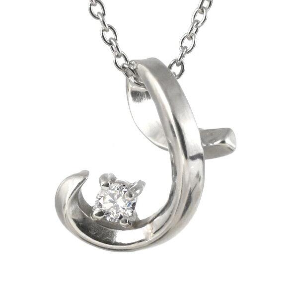 ネックレス メンズ 幸せを呼ぶ( 4月誕生石 ) ダイヤモンドペンダントネックレス【楽ギフ_包装】