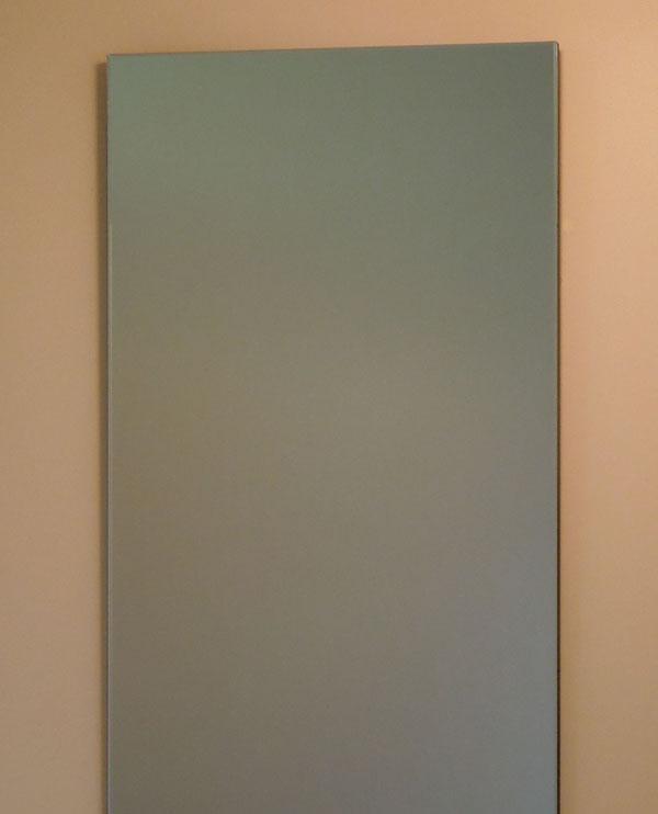 鏡 ミラー 壁掛け鏡 ウォールミラー【JHAインテリアミラー】《デラックス》柄なし 【飛散防止・壁掛け用】W400×H900(通常品)【完全防湿】(フレームレスミラー ノンフレーム 化粧鏡 玄関 洗面 トイレ 寝室 おしゃれ 店舗)