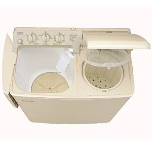 PS-H45L-CP 日立 4.5kg 2槽式洗濯機 パインベージュ HITACHI 青空 [PSH45LCP]【返品種別A】【送料無料】(標準設置無料)