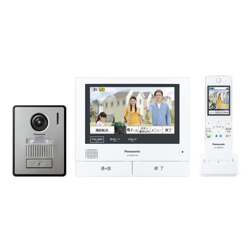 VL-SWH705KL パナソニック ワイヤレスモニター付テレビドアホン Panasonic スマホで「外でもドアホン」 [VLSWH705KL]【返品種別A】【送料無料】