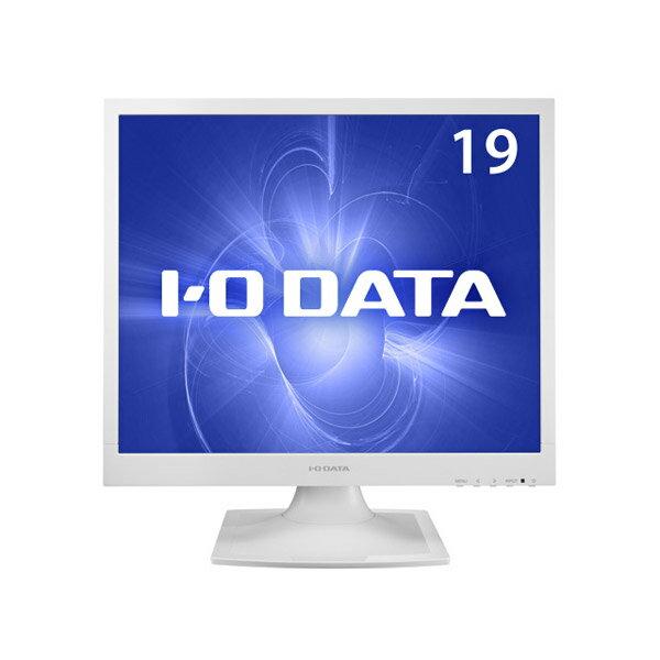 LCD-AD192SEDSW I/Oデータ 19型スクエア 液晶ディスプレイホワイト  [LCDAD192SEDSW]【返品種別A】【送料無料】