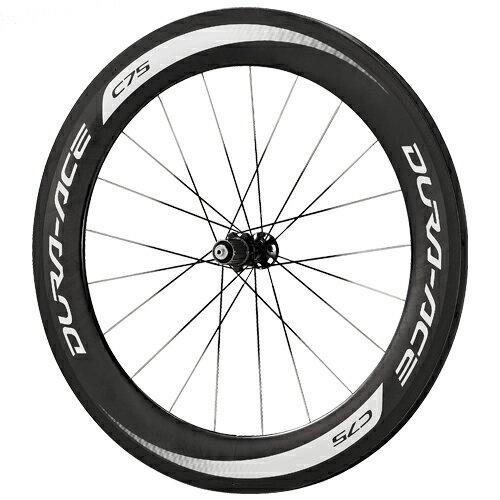 DURA ACE(9000) WH-9000-C75-TU チューブラー・フルカーボンリム ホイール リア用/ SHIMANO デュラエース 自転車 パーツ【送料無料】