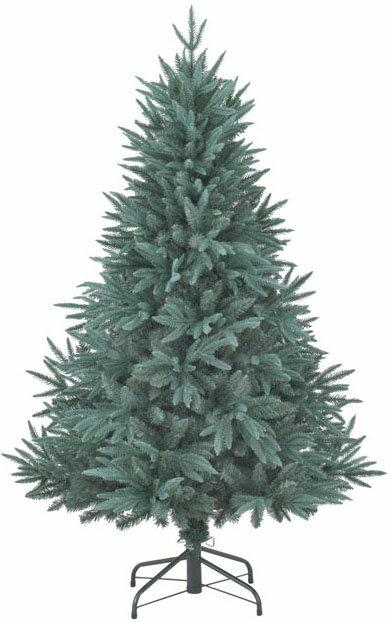 【クリスマス・ヌードツリー・装飾】150cmノルディックパインツリー(幹と枝が傘の様な部品で接続されておりパタパタ広げるタイプ)