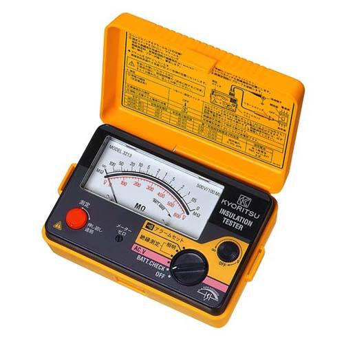 KYORITSU/共立電気計器 アナログ絶縁抵抗計 3213キューメグ