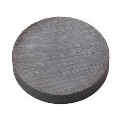TRUSCOフェライト磁石外径50mmX厚み10mm10個入りTF50R10P【4151313】