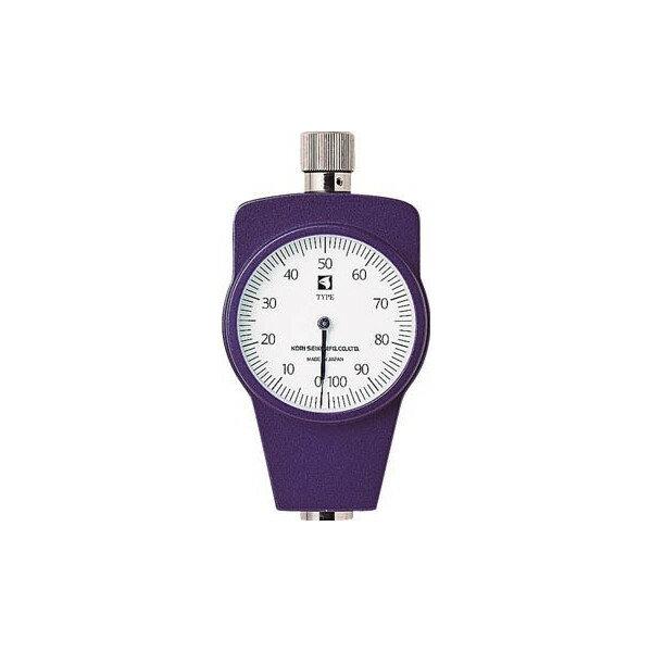 【送料無料】古里ゴムプラスチック硬度計標準型KR14A【2196085】