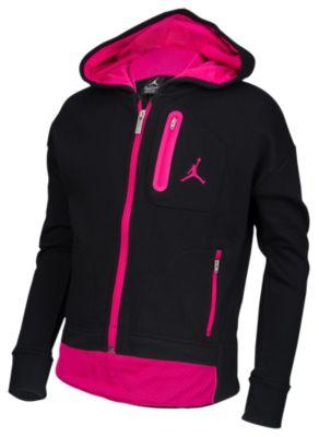 jordan cropped fleece hoodie ジョーダン フリース フーディー パーカー 女の子用 (小学生 中学生) 子供用 ベビー キッズ マタニティ トップス
